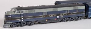 B&O Cincinnatian Train Whole Train