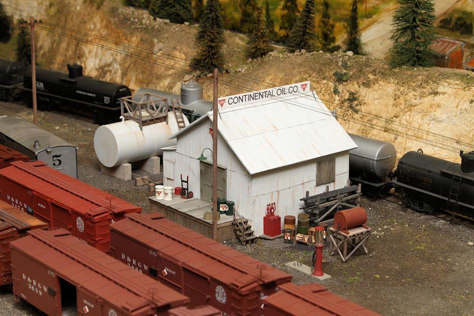 Pete Smiths Loon Lake Railway & Navigation Co. Sn3 Model