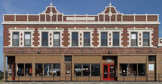 Retail Showroom Front w/Railing, Oakville, Missouri