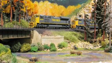 Eric Brooman's Beautiful Utah Belt HO Scale Model Railroad