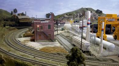 Big Bend Railroad Club O Scale Springfield & Ozark Model Railroad