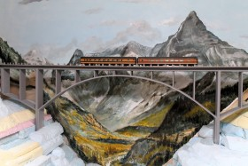 John Hardy's St. Jacques Northern-Great Northern Model Railroad