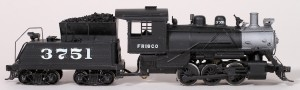 Frisco #3751 Steam Locomotive