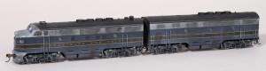 B&O #75A & #74B Diesel Locomotives