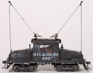 StL&BE #550 Traction Engine