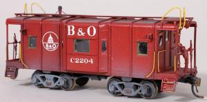 B&O #C-2204 Caboose