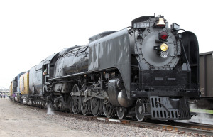 UP 4-8-4 #844 Steam Locomotive Prototype Photograph