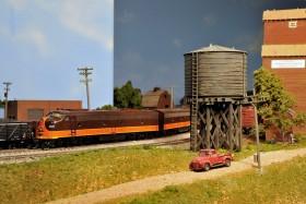 Don Morice's HO Scale Illinois Central Model Railroad