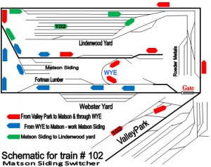 Webster Groves & Fenton Schematic.