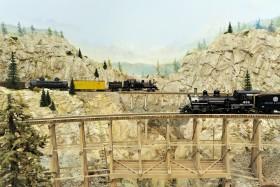Pete Smith's Loon Lake Railway & Navigation Co. Sn3 Model Railroad
