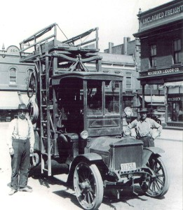 Great East Side Electric Railway System Line Truck