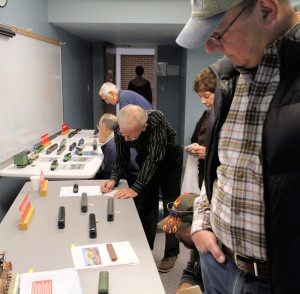 Viewing Entries in Part of the Model Contest Room
