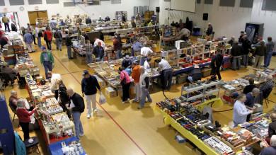 Vendor Area at the 2011 St. Louis Train Show