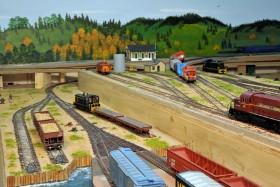 Jerry Jungers' HO Scale Western Arkansas Railroad