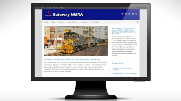 New and Updated GatewayNMRA.org Website