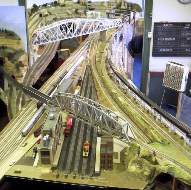 Big Bend Railroad Club Yard