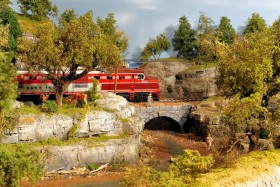 John Russell's O Scale Rock Island Lines Model Railroad
