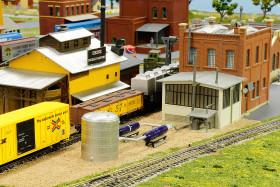 Joyce and David Silverman's Silver Valley Lines Model Railroad