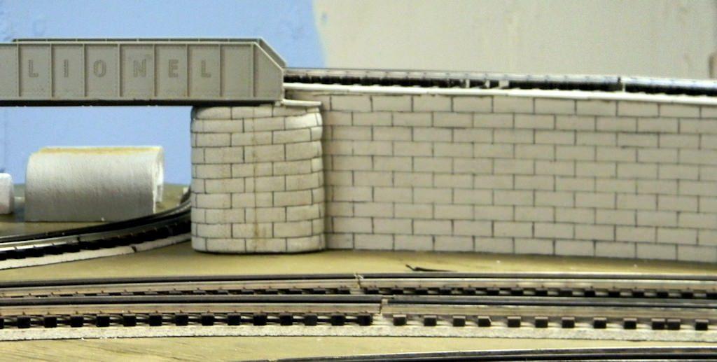Styrofoam Bridge Support