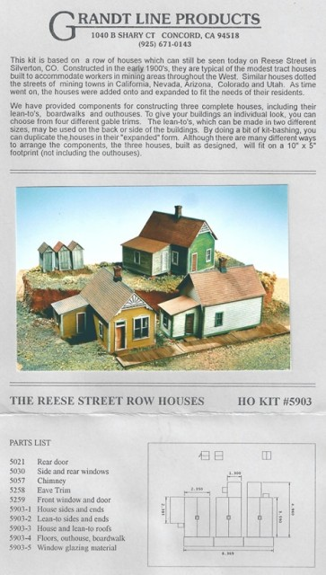 Grandt Line Reese Street Row Houses