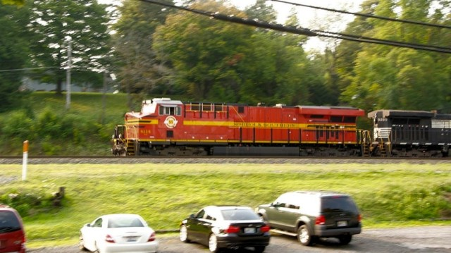 Norfolk and Southern Norfolk Southern Heritage unit