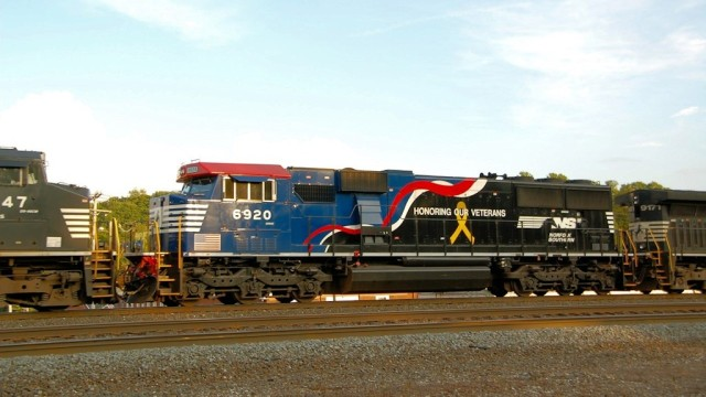 Norfolk Southern tribute to our veterans