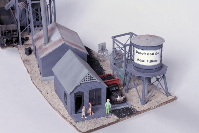 John Carty, 2014 Kitbash Contest Second Place, Coal Mine