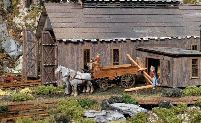 Tom Trotter's Pacific Coast Logging Diorama