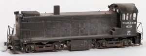 Wabash #410 Diesel Locomotive