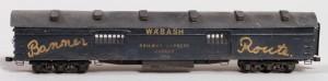 Wabash #368 REA Baggage Car