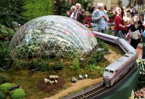 Gardenland Express, Model Photo