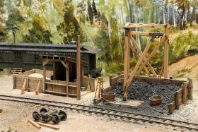 Pete Smith's Beautiful Loon Lake Railway & Navigation Co. Sn3 Model Railroad