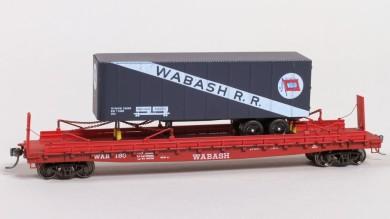 1955 Wabash Piggy-Back Flat