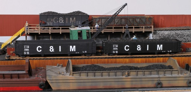 Havana Transfer HO Scale Coal Dock