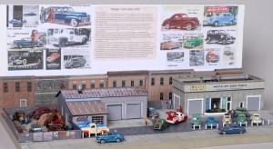 Morgan Auto Sales 1949 Diorama