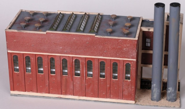 Winstanley Powerhouse HO Scale Model
