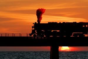 Sunset on the Coast Line