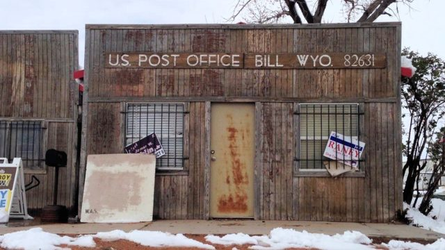 I had to include this one. This whole area is at Bill, Wyoming.