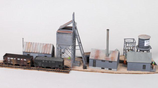 Kitbash the Belleville Radium Mine