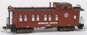 Missouri Pacific #1108 Drovers Caboose