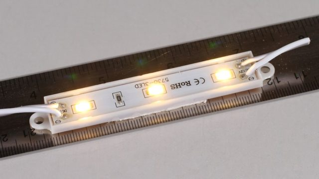 A LED sign/lightbox module