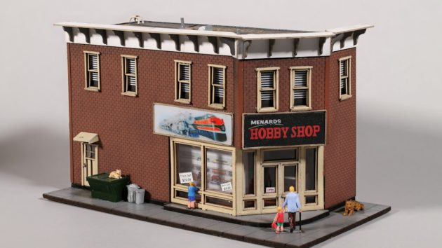 Menard's HO Scale Hobby Shop