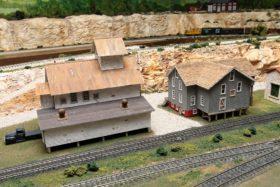 Dave Lyon's Downe & Audt Line HO Model Railroad