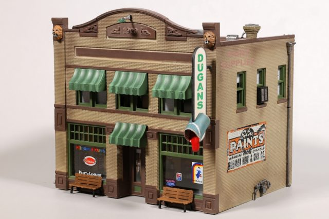 Dugan's Paint Store looks good from every side. The challenge will be placing it so its details can be appreciated by your visitors.