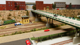 Joe Visintine's HO Scale East Bluff Terminal Railroad