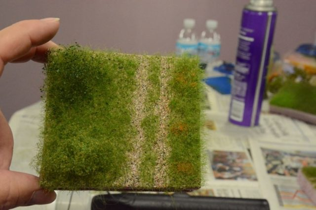 How to Apply Static Grass