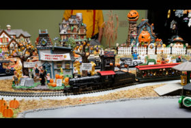 Halloween Fright Fest Model Railroad Layout