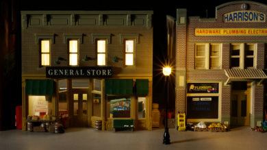 Evemodel HO Scale Model Railroad LED Street Light