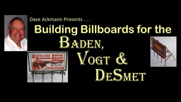 Building Billboards for the Baden, Vogt and DeSmet