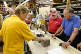 NMRA-NRHS Tour of Micro Engineering